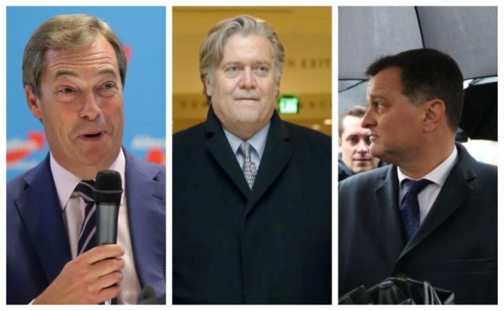 TRAMP OKUPIO EVROPSKE DESNIČARE U LONDONU: Tajnom sastanku lidera populističkih pokreta prisustvovao i njegov BIVŠI SAVEZNIK