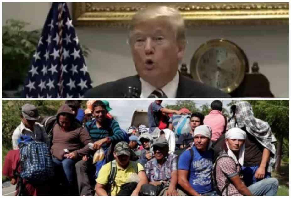 TRAMP ZAPRETIO: Vojska će pucati na migrante ako ih budu gađali kamenicama! KAMENICE SU KAO PUŠKE!