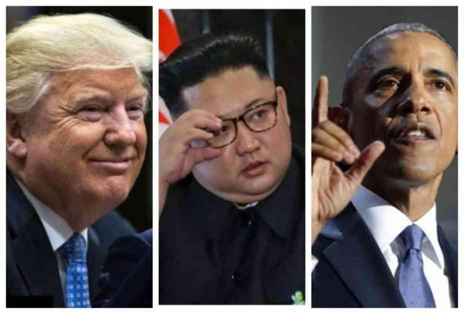 TRAMPOVO ZASTRAŠUJUĆE PRIZNANJE: Spasao sam svet NUKLEARNOG RATA! Obama mi je rekao da je umalo zaratio s Kimom, da ja nisam izabran...