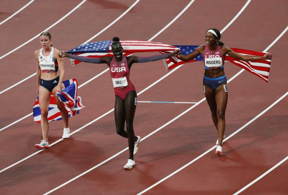 TRKA NA 800 METARA: Amerikanka Mu osvojila olimpijsko zlato, Hočkinson srebro, Rodžers bronzu