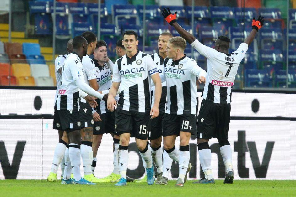TROJKA UDINA NA GOSTOVANJU: Udineze lako izašao na kraj sa Spalom! VIDEO