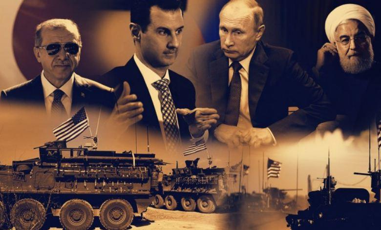 TROUGAO MOĆI: Ko drži ključ rešenja u Siriji