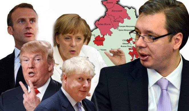 TUČA SLONOVA PREKO LEĐA SRBIJE! BRISEl UZVRAĆA UDARAC VAŠINGTONU! Evropska kontraofanziva na Kosovu! IMA LI KRAJA NADGORNJAVANJU VELIKIH?!