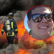 TUGA DO NEBA: Vatrogasac (20) preminuo tokom svoje prve smene na poslu, kolege neutešne