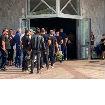 TUGA NA ORLOVAČI! Prijatelji i porodica okupili se da upute poslednji pozdrav tragično stradalom reperu Gruu: Ekipa Partizana poslala venac!