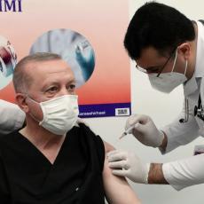 TURSKA SE OBRAČUNAVA SA KORONOM: Erdogan potvrdio da stiže 10 miliona doza kineske vakcine