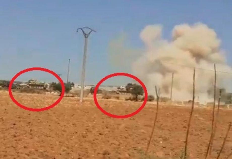 TURSKA VOJSKA UŠLA U SIRIJU! Oklopna vozila prešla granicu i idu u susret sirijskim snagama (VIDEO)
