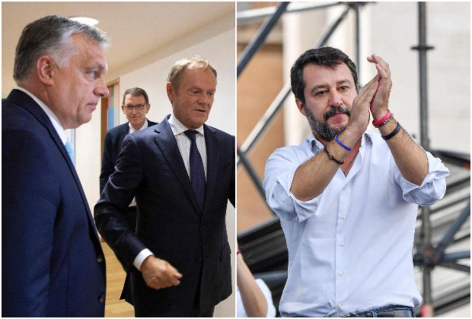 TUSK NE ŽELI ORBANA I SALVINIJA U EPP, PA IH ŽESTOKO POKLOPIO: I moja mašta ima granice!
