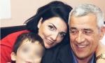 TUŽAN PRIZOR NA GROBU OLIVERA IVANOVIĆA: Mali Bogdan zapalio sveću ubijenom tati (FOTO)