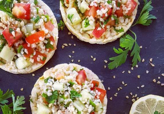 Tabuli je libanska salata koja odlično ide uz meso, ribu, humis!