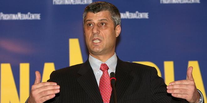 Tači: Korigovanjem granica će se izbeći podela Kosova