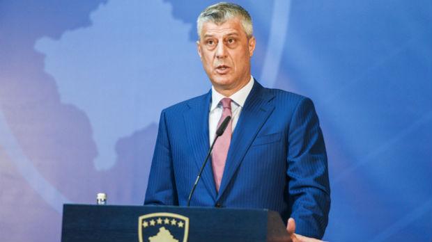 Tači: Podržžavam zahtev o ujedinjenju s Kosovom