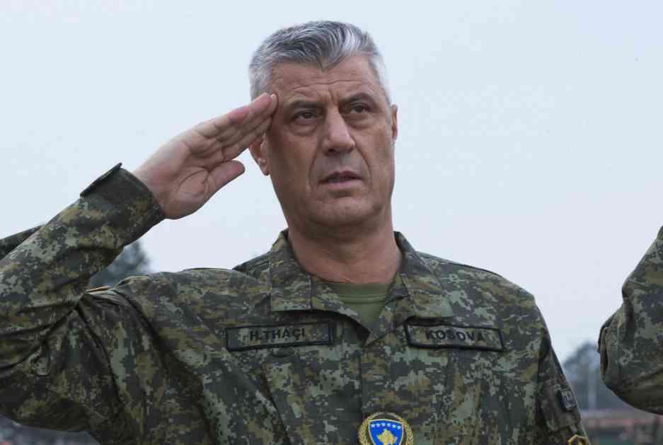 Tači: Srećan što je sad i vrhovni komandant KBS