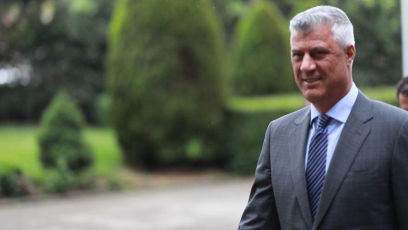 Tači: Što pre formirati Vladu Kosova
