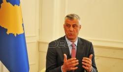 Tači: Vreme je za izbor nove Vlade Kosova i da se uklone mere koje narušavaju odnose sa svetom