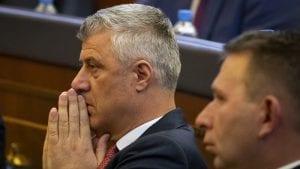 Tači najavio konsultacije sa političkim partijama nakon ostavke Haradinaja
