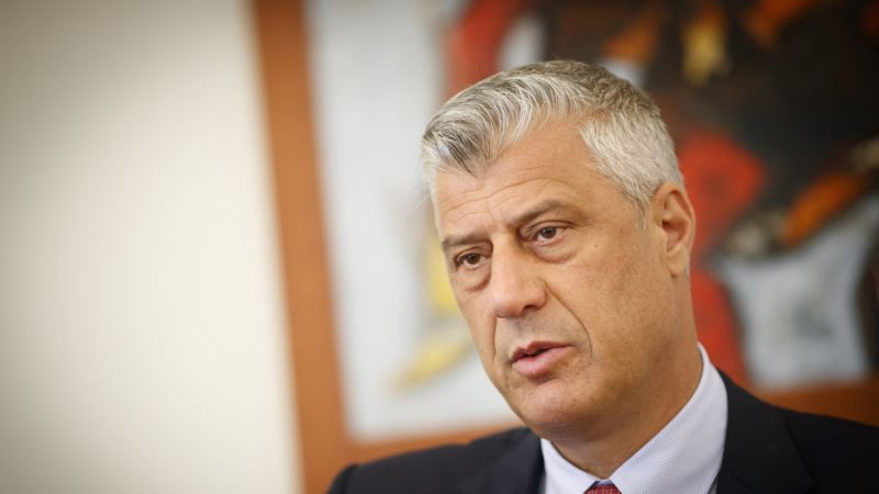 Tači Makronu: Kosovo spremno za mirovni sporazum sa Srbijom