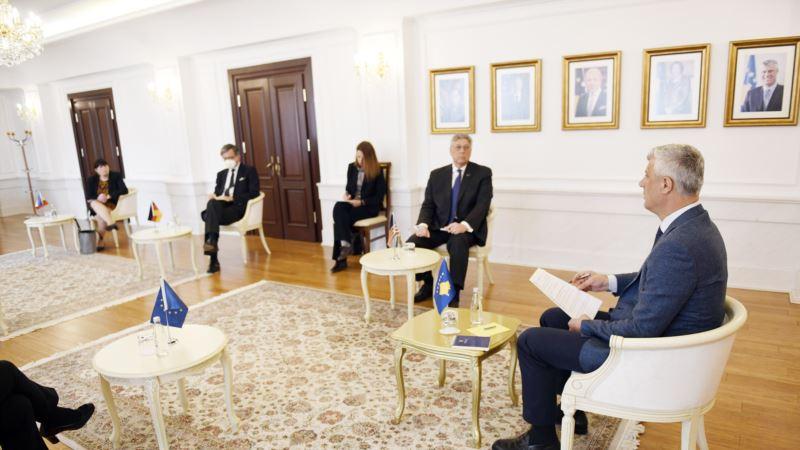 Tači sa KVINTA ambasadorima: Potrebna vlada koja će doneti stabilnost