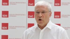 Tadić: U Srbiji nema uslova za elementaran politički život, a kamoli za dijalog