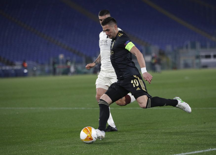 Tadiću poništen gol za prolaz - Roma izbacila Ajaks, prošli i Junajted, Arsenal i Viljareal