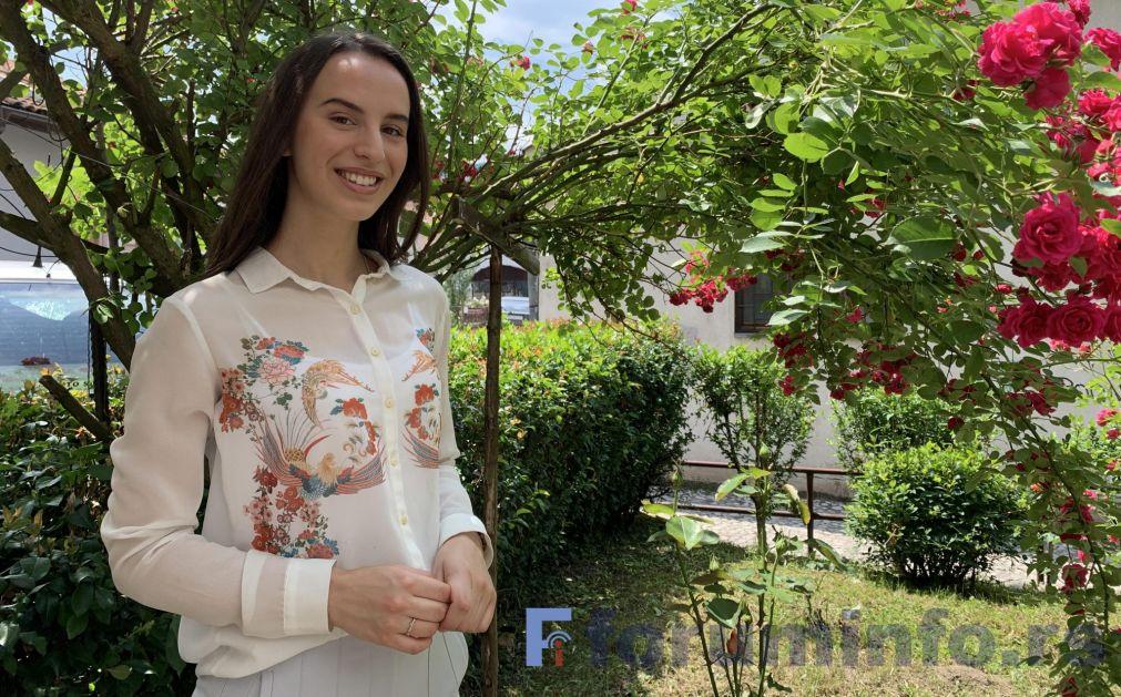 Taida Mehonić učenica generacije Prijepoljske gimnazije