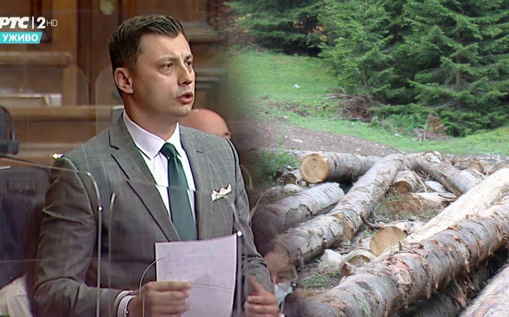 Tandir: Odmah prestati sa nekontrolisanom sječom šuma u Sandžaku