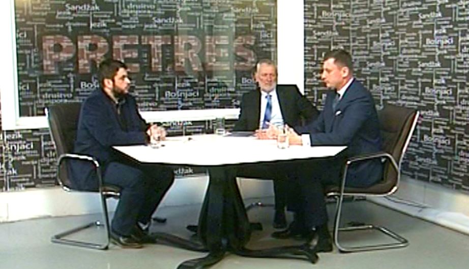 Tandir i Gačević u Pretresu o uspjehu koalicione vlasti u Prijepolju