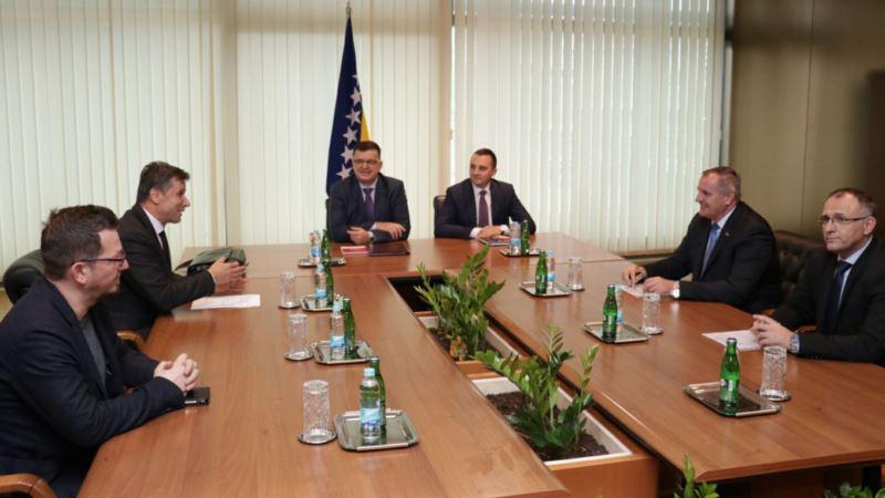 Tegeltija sa entitetskim premijerima o PDV-u i EU integracijama