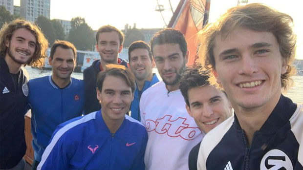 Teniski selfi sezone, osmesi na sve strane