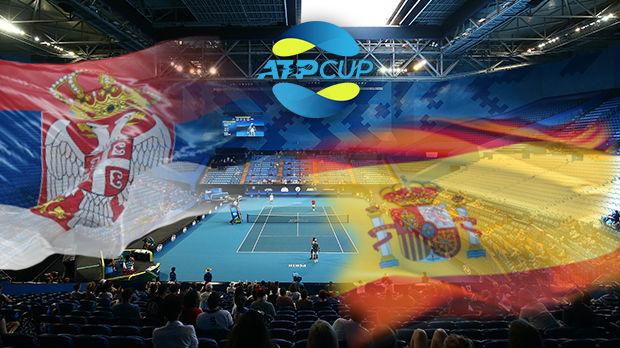 Teniski spektakl u Sidneju, Srbija i Španija u finalnom duelu ATP kupa