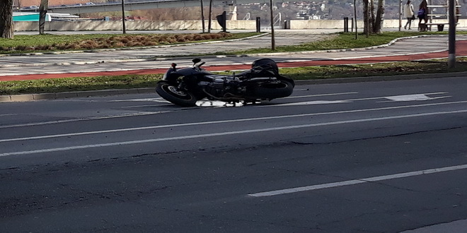 Teško povređen motocilista u Futogu, sudario se sa gradskim autobusom