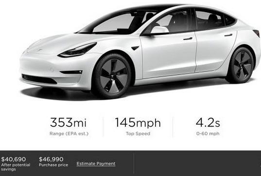 Tesla Model 3 za 2021 godinu donosi veću autonomiju