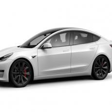 Tesla na prvom mestu, a na drugom još jedan automobil na struju