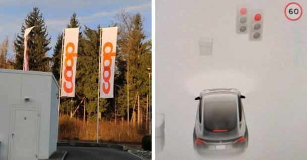 Teslin Autopilot slova na zastavi tumači kao svetla na semaforu
