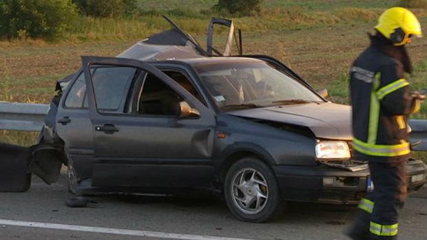 Težak sudar na auto-putu za Zagreb, četvoro povređenih