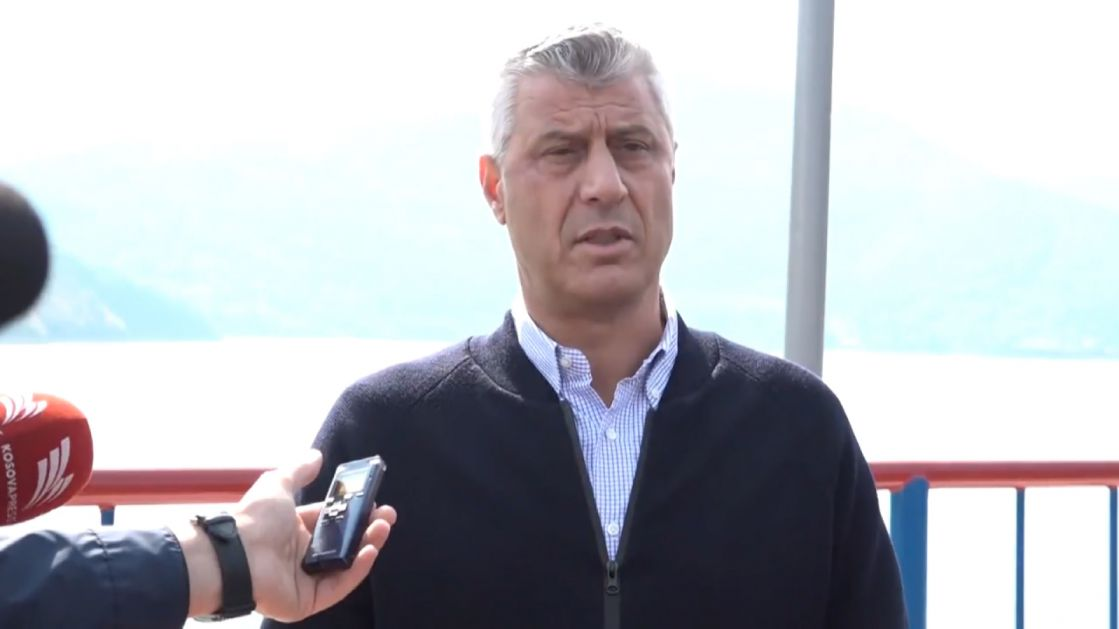 Thaci: I had the honour of visiting Gazivode Lake by boat