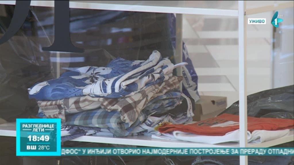 The empty shop u Novom Sadu - radnja u kojoj kupci doniraju svoju garderobu