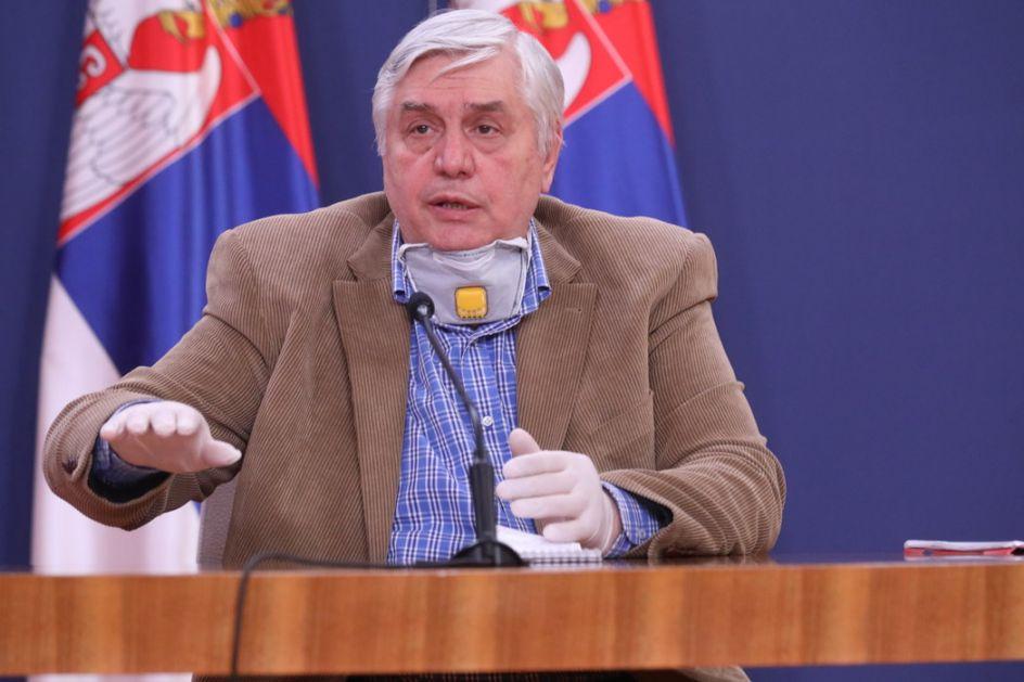 Tiodorović: Sigurno će se razboleti 60 - 70 odsto građana, pitanje je samo u kom intervalu