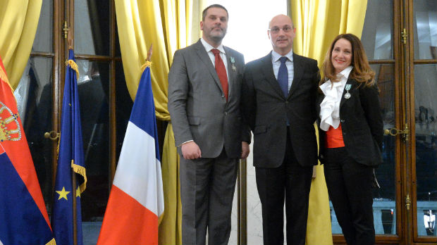 Tijani Palkovljević Bugarski i Milošu Konstantinoviću uručen Orden u rangu viteza