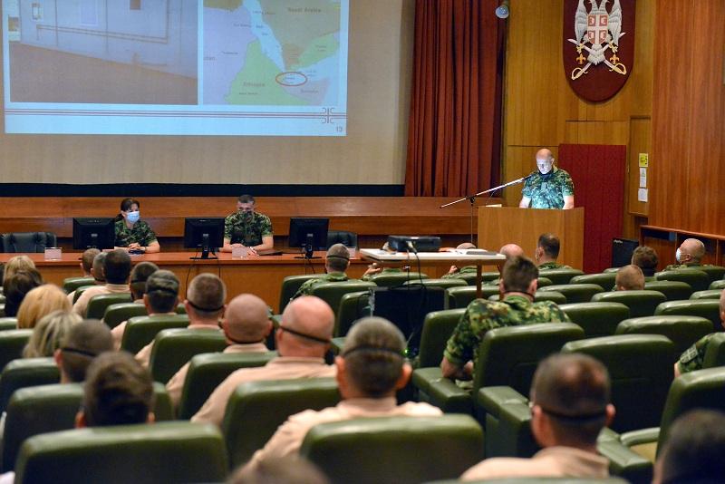"""Tim Vojske Srbije iz sastava 72. Brigade za specijalne operacije upućen u zonu vojne operacije EU """"Atalanta"""""""