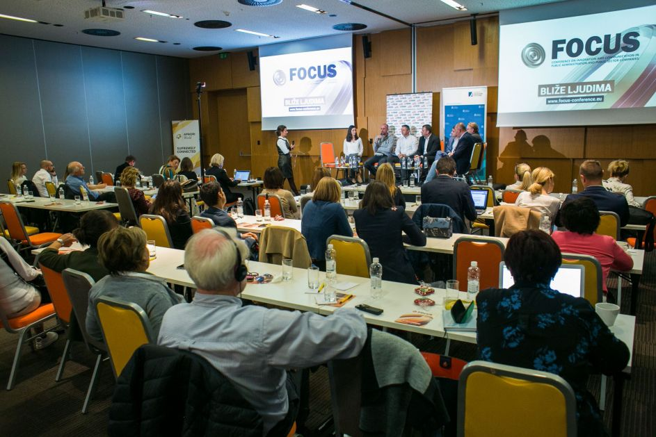Tina Zournatzi, Erik den Hoedt, Christian Spahr i Vincenzo La Voce u fokusu FOCUS konferencije