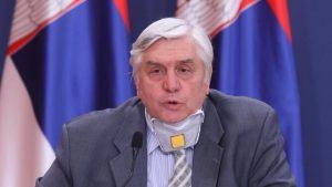 Tiodorović: Ako mere budu poštovane, zaravnjenje epidemiološke krive oko 10. decembra