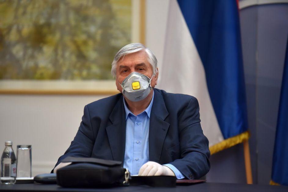 Tiodorović: Do kraja vikenda porast zaraženih, od nedelje stabilizacija