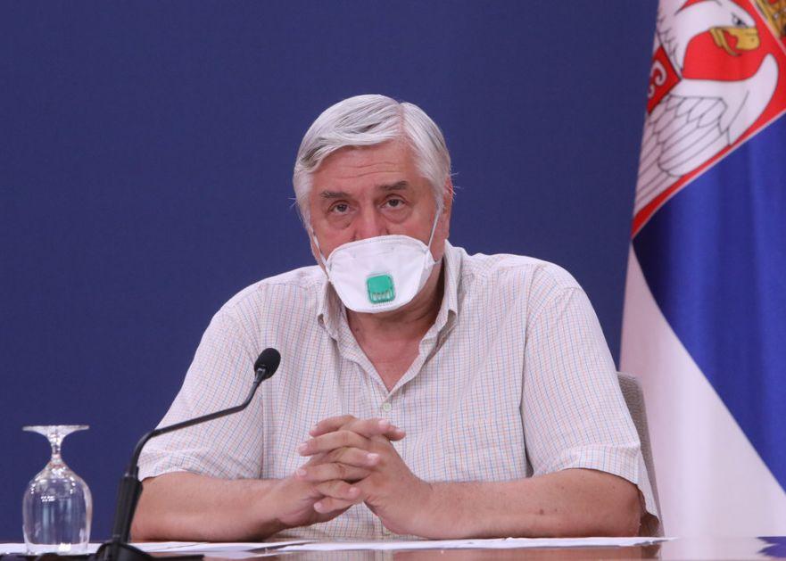 Tiodorović: Manje od 1.000 novozaraženih - normalniji život