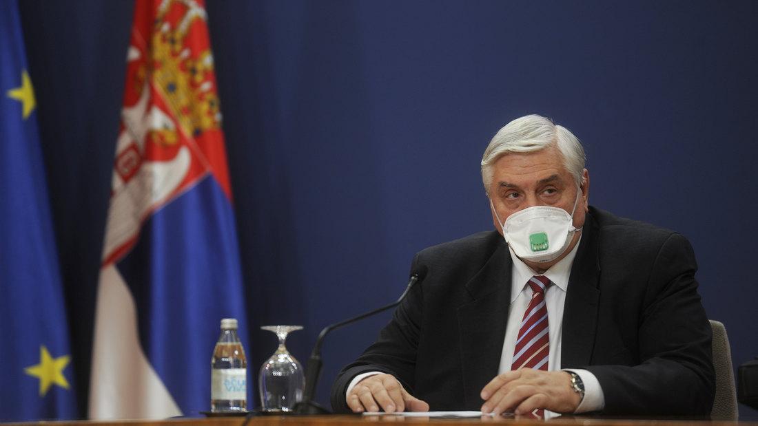 Tiodorović: Pojava novog soja u Srbiji pitanje dana