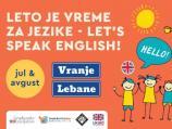 Tokom leta besplatni časovi engleskog za mlade u Vranju i Lebanu