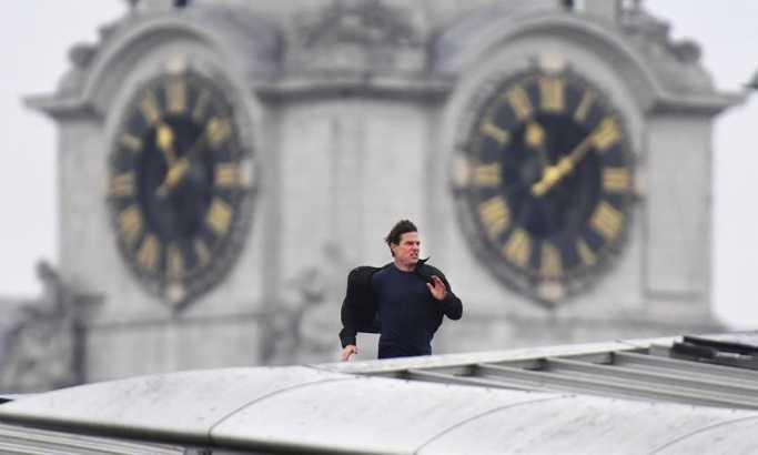 Tom Kruz zaustavio saobraćaj u centru Londona