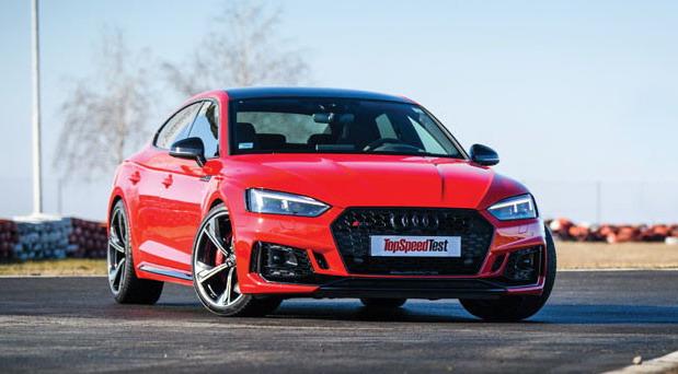 TopSpeed test: Audi RS 5 Sportback 2.9 TFSI quattro