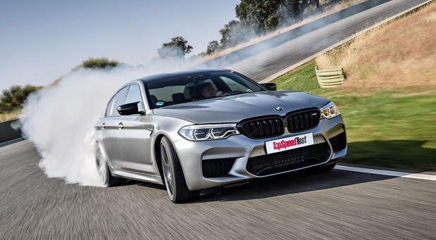TopSpeed test: BMW M5 Competition