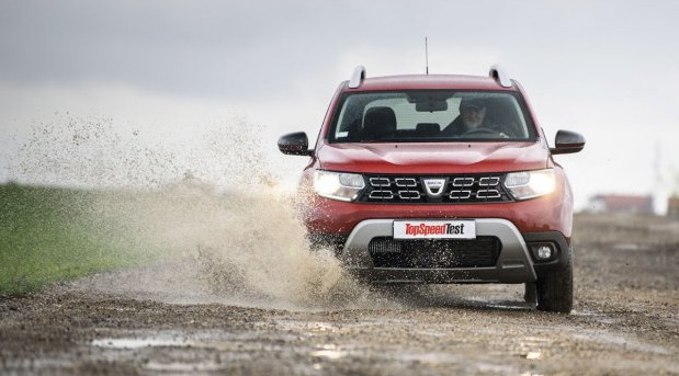 TopSpeed test: Dacia Duster 1.3 TCe